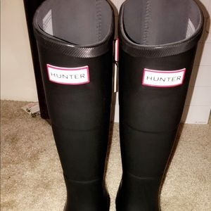 "Brand New ""Hunter Brand"" rain boots"